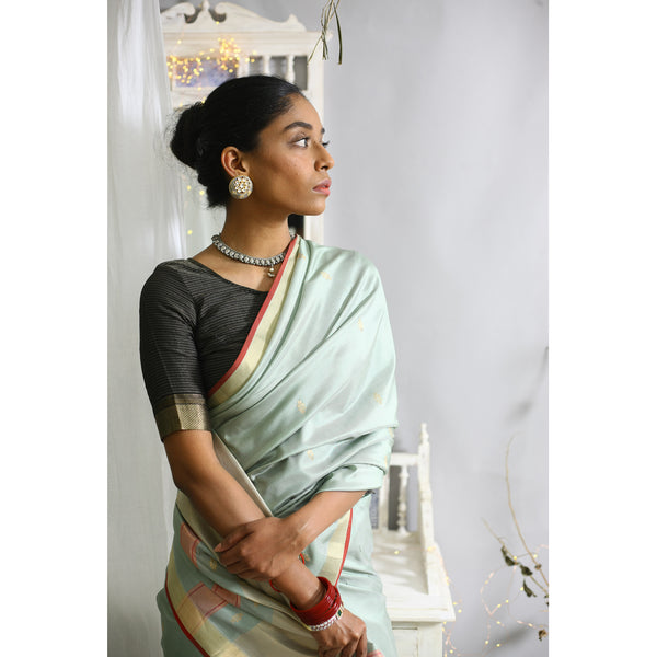 Ahiri Ecoloom Pure Silk Saree
