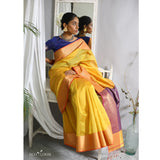 Ananta Ecoloom Cotton Silk Saree