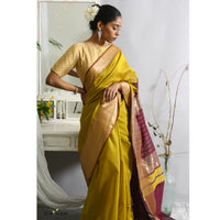 Mukhi Ecoloom Cotton Silk Saree