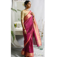 Kanakangi Ecoloom Cotton Silk Saree