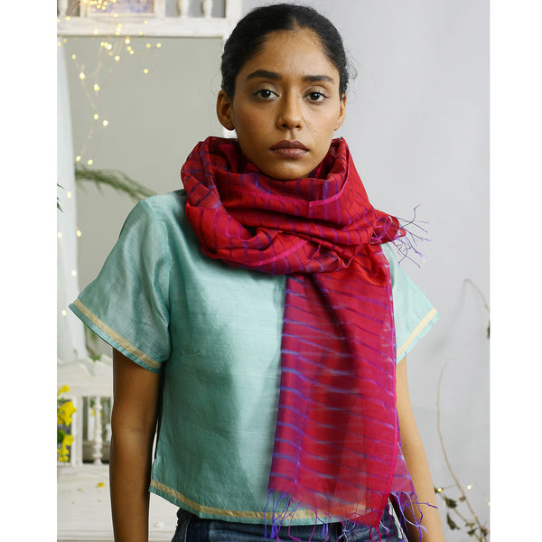 Sindhu Ecolooom Silk Cotton Stole