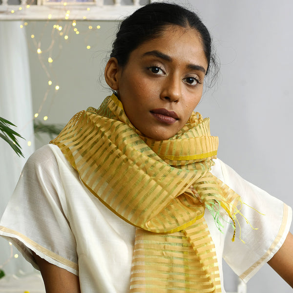 Amra Ecolooom Silk Cotton Stole