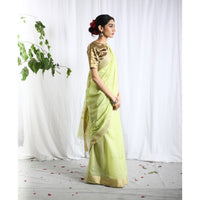 Chitrambari Silk Cotton Ecoloom Saree