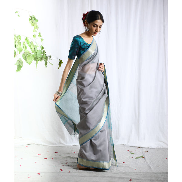 Mukhapriya Silk Cotton Ecoloom Saree