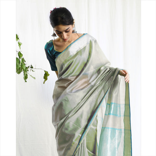 Amrith Silk Cotton Ecoloom Saree