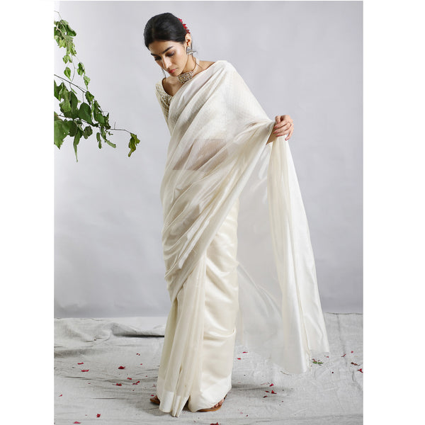 Heer Ecoloom Cotton Silk Saree