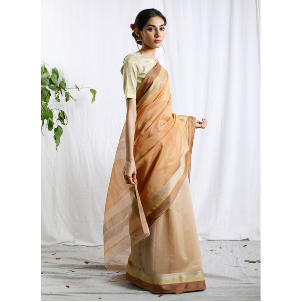 Kripakirti Silk Cotton Ecoloom Saree