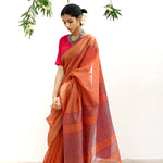 Maalta Ecoloom Silk Cotton Saree