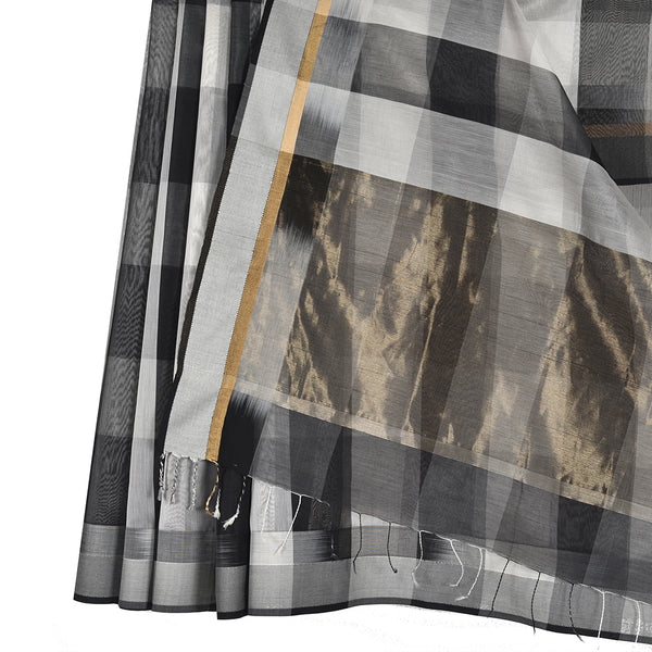 Kattam Maheshwari Silk Cotton Saree