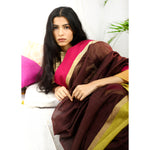Earth Ecoloom Silk Cotton Saree