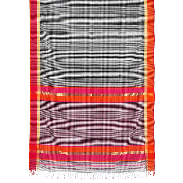 Kattam Ecoloom Cotton Silk Saree