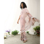 Magpie Ecoloom Floral Printed Saree
