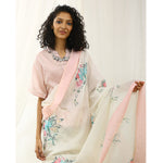 Chanda Ecoloom Floral Printed Saree