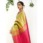 Terra Ecoloom Pure Silk Saree