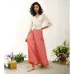 Cayenne Ecoloom Lace Skirt