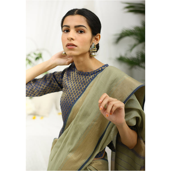 Birch Ecoloom Silk Cotton Saree
