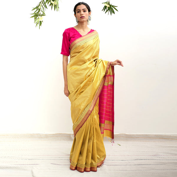 Tulip Ecoloom Pure Silk Saree