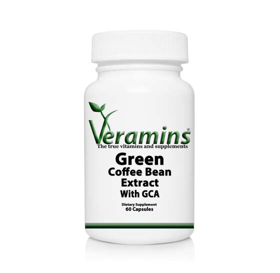 Green Coffee Bean Extract 800 Mg Chlorogenic Acid Supplement