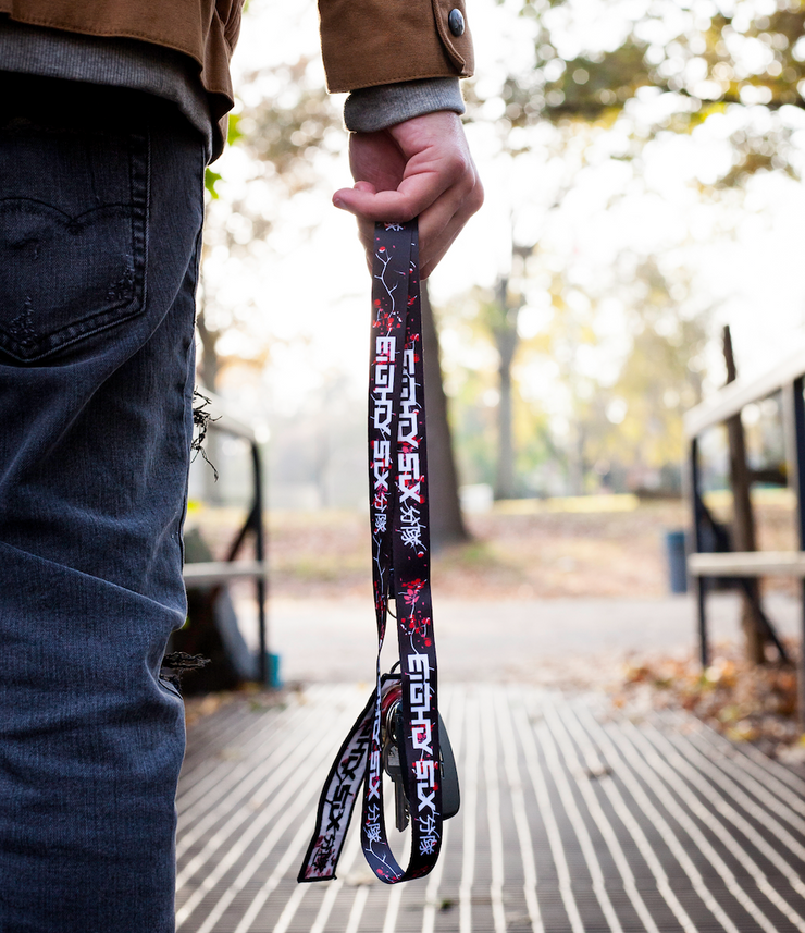 Inverted Blossom Lanyard
