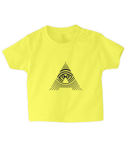 baby/toddler 'all seeing a' t-shirt