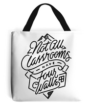 """four walls"" premium tote bag"