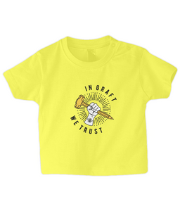 baby/toddler angled graft logo t-shirt