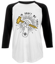 women's baseball t-shirt - large graft logo