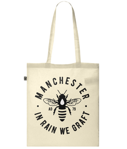 Classic Tote Bag - Manchester Bee Design