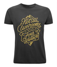 men's classic cut t-shirt - four walls design