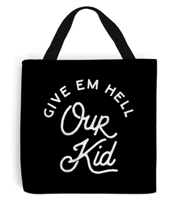 """our kid"" premium tote bag"