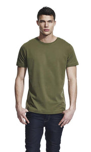 men's classic cut t-shirt - large angled graft logo