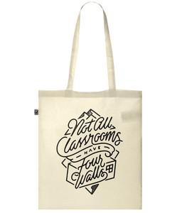 """four walls"" classic tote bag"