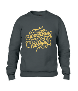 men's sweatshirt - make something design