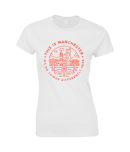 women's 'this is manchester' cotton t-shirt