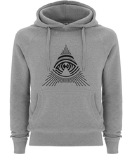 men's all seeing 'a' pullover fairtrade hoodie