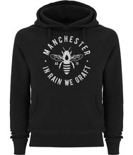 women's manchester bee pullover fairtrade hoodie