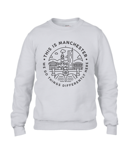 men's 'this is manchester' sweatshirt