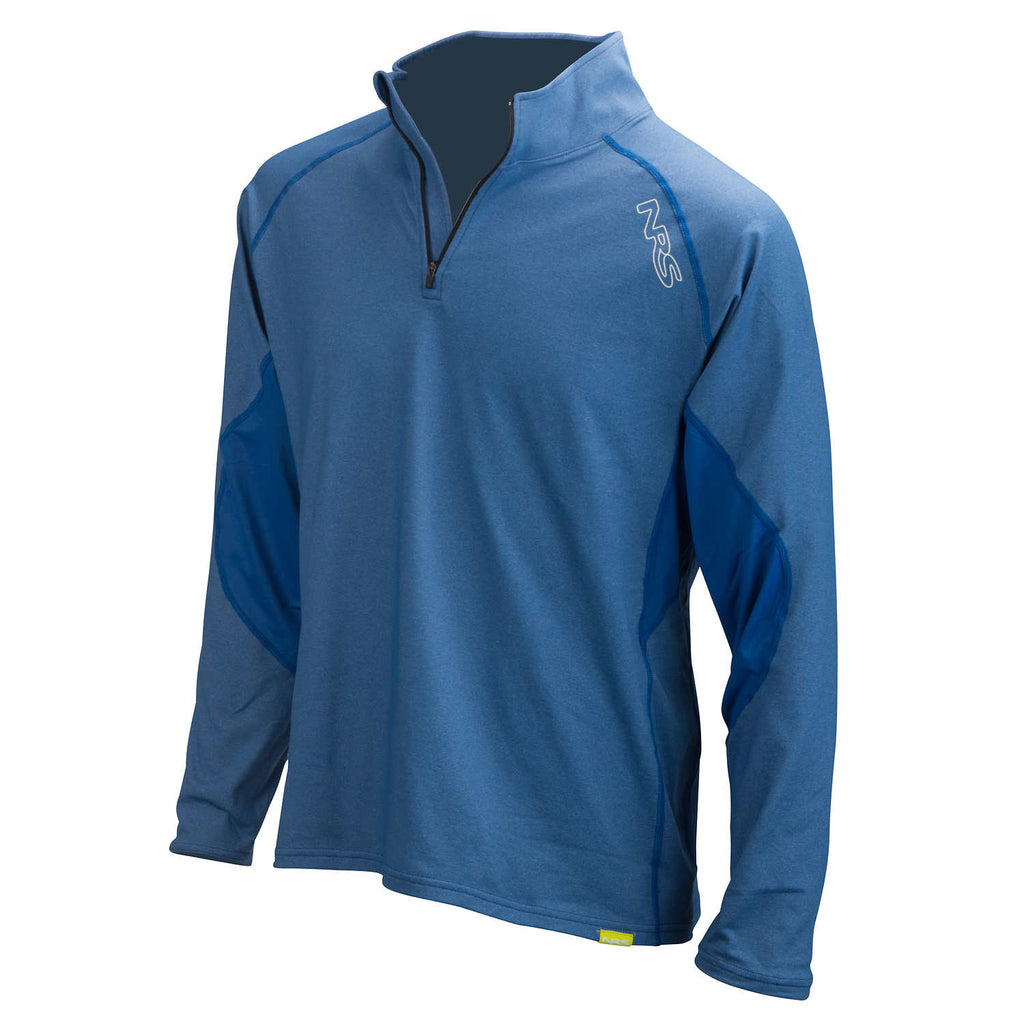 NRS Men's H2Core Lightweight ZipNeck Shirt