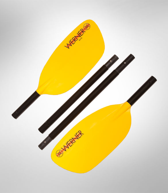 Werner Rio Whitewater Kayak Paddle (2-pc)