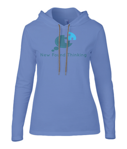 Ladies Hooded Awareness T-Shirt