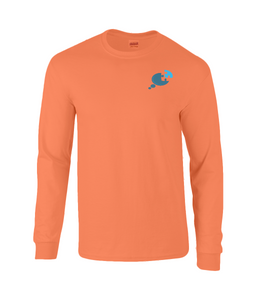 Men's Long Sleeve Awareness Tee - Discreet Logo