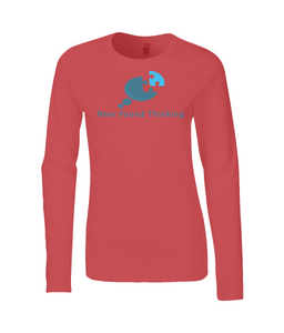 Ladies Long Sleeve Awareness T-Shirt