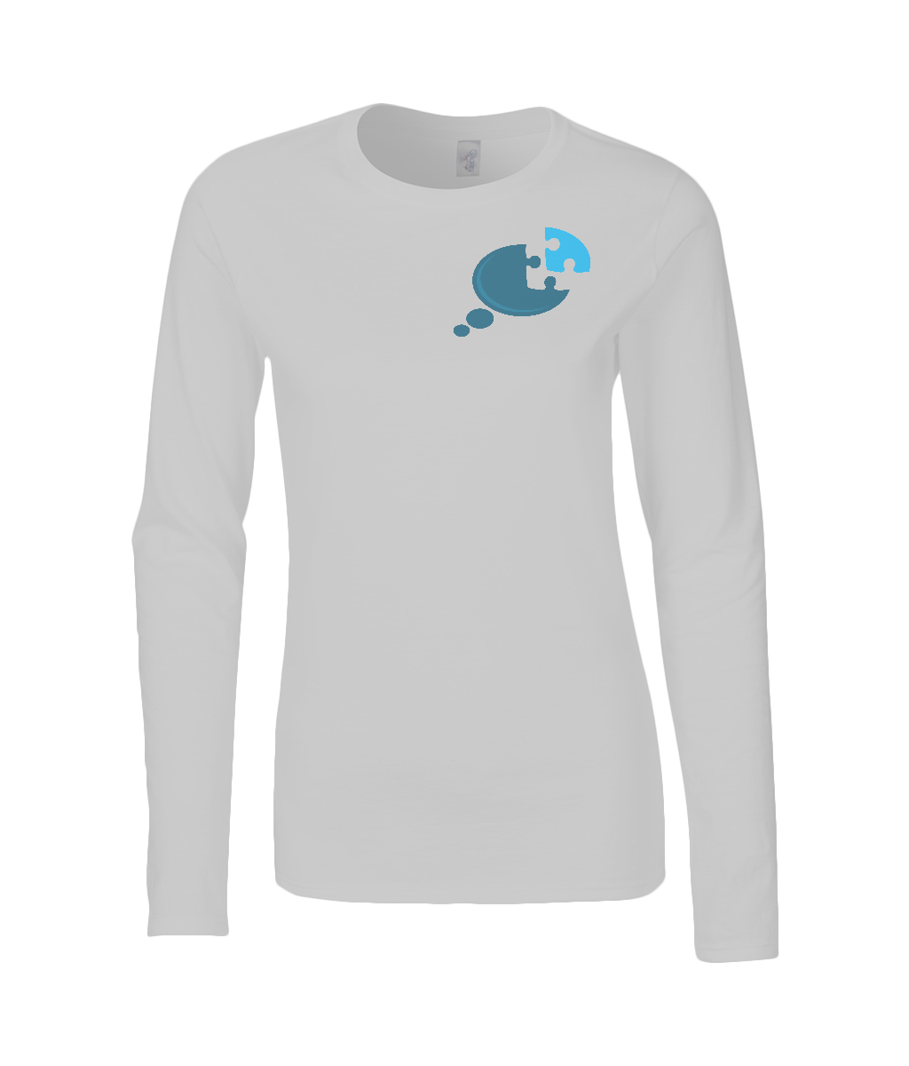 Ladies Long Sleeve Awareness Tee