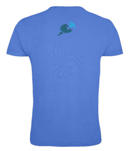 Men's Fitted Awareness Tee - Back Logo