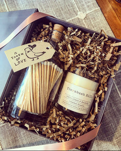 Candle & Match Bottle Gift Set