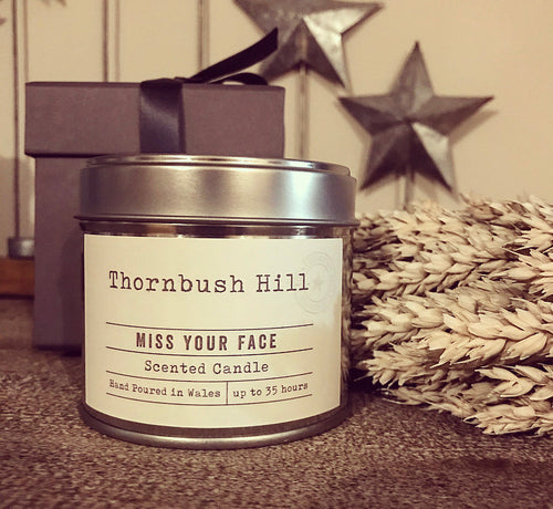 'Miss Your Face' Scented Candle