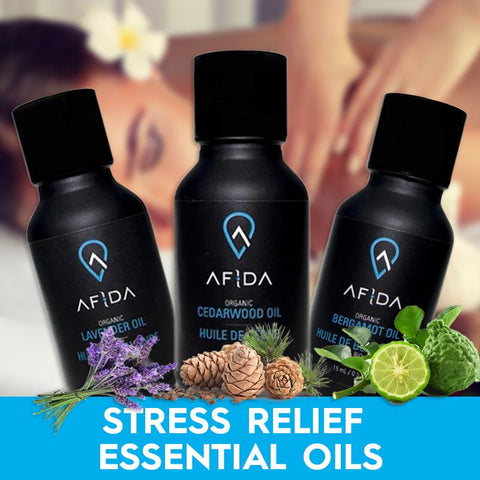 stress relieving essential oils