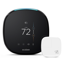 ecobee4 Smart Thermostat with Room Sensor and built-in Alexa Voice Service