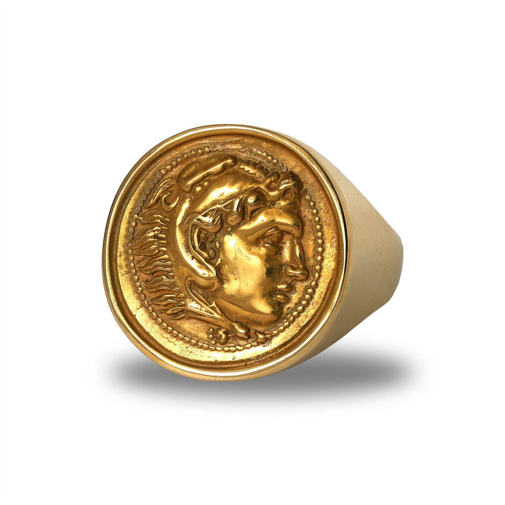 Alexander The Great Signet Ring