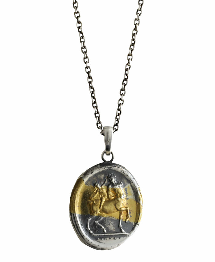Centaur and Cupid Pendant